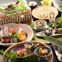 ■特選料理_夏の一例