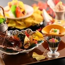 ■「お値打ち料理コース」秋の一例
