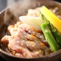 ■信濃地鶏ごま味噌蒸し煮