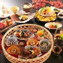 ■「おすすめ料理コース」秋の一例