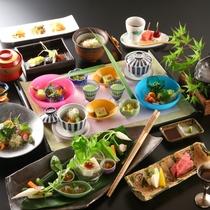 ■料理_おすすめ懐石コース_初夏の一例