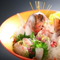 ■【記念日プラン】鯛の姿造り