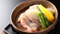 ■一品料理「信州地鶏のごま味噌煮」