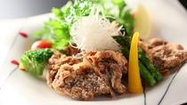 ■一品料理「松本のB級グルメ 山賊焼き」