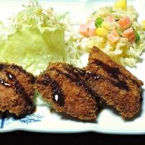 *【夕食一例】魚のフライ