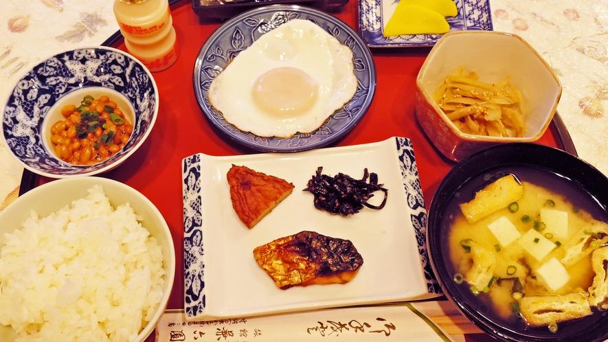 *【朝食一例】しっかり食べて元気をチャージ