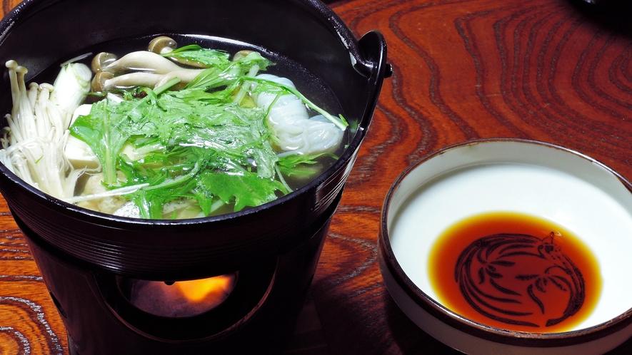 *【夕食一例】熱々が嬉しい小鍋料理