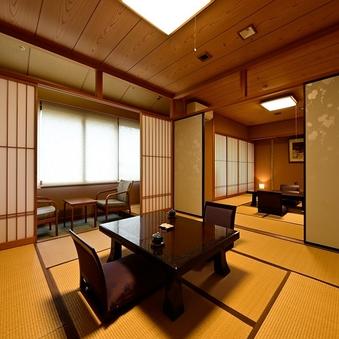 【源泉内風呂付】別館7階特別室◆和室2間(10+8畳)