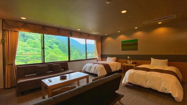 【展望風呂付】別館8階802特別室◆和8畳+洋室35平米