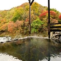 男性大浴場「仙人の湯」露天風呂
