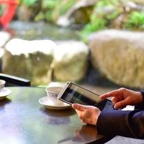 ロビー・ラウンジでは無料Wi-Fiがご利用頂けます♪