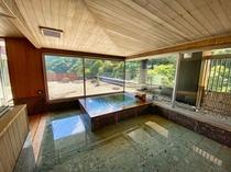 別館最上階特別室の内風呂