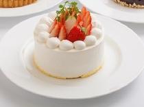ホテルオリジナルの生ケーキ