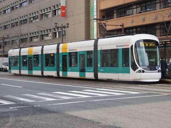【交通】市内観光には路面電車が便利♪最寄りの広島駅電停まで徒歩約5分。