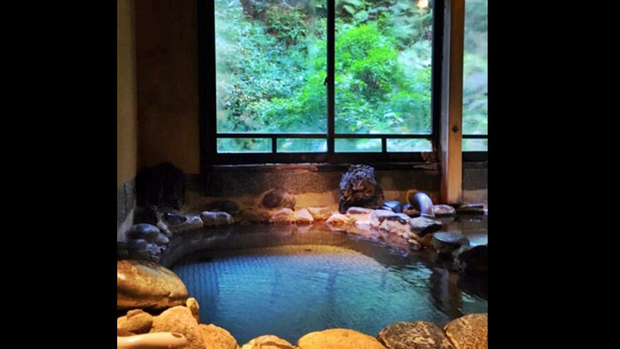 *「したの湯」泉質は効能の多いラジウム泉。長湯をおススメします♪