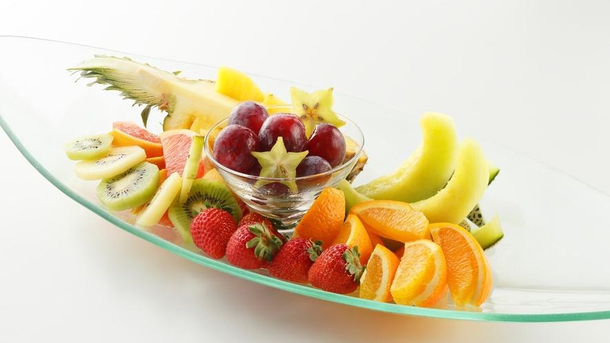 フルーツ盛り合わせ一例※事前予約要