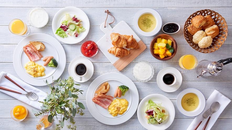朝食バイキング/洋食一例