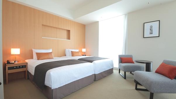 デラックスツイン(ハリウッドツイン) ベッド幅120cm