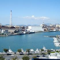 ◆北側上層階から眺める港◆
