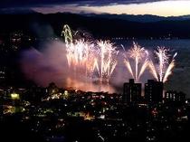 ◆諏訪湖花火大会