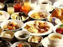 ■朝食:和洋20種以上のメニューはお客様の元気な一日をサポート!