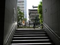 地下鉄難波1番出口02
