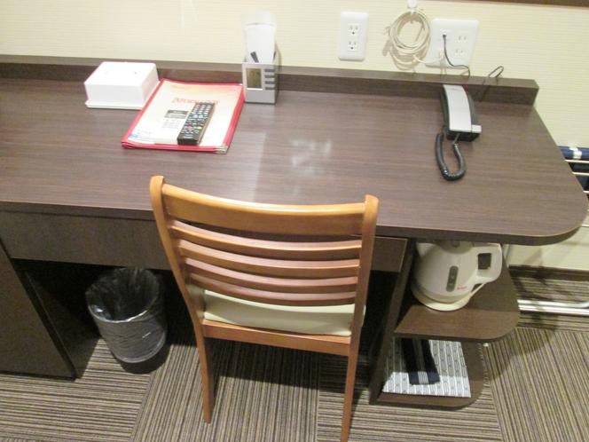 別館客室机