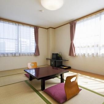 和室8畳にご宿泊  禁煙室