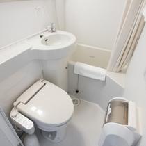 【客室ユニットバス】*天然温泉の他、全客室にユニットバス(ウォシュレット)標準装備*