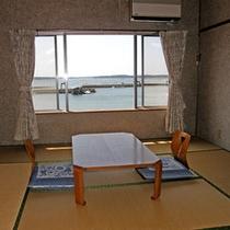 海側客室一例