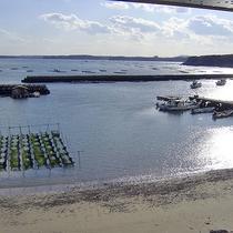 宿からの海の風景