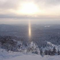 【周辺】冬に見られるサンピラー