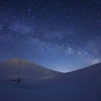 夜空にきらめく満天の星