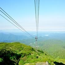 【ロープウェイ】旭岳の雄大な大自然を感じる事が出来ます