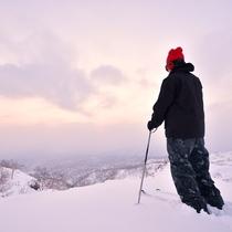 【冬の旭岳】世界のスキーヤー注目のパウダースノー