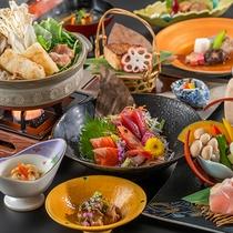 秋田錦牛と比内地鶏食べ比べイメージ