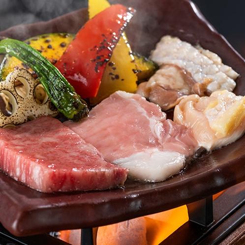 秋田三大肉陶板焼きイメージ