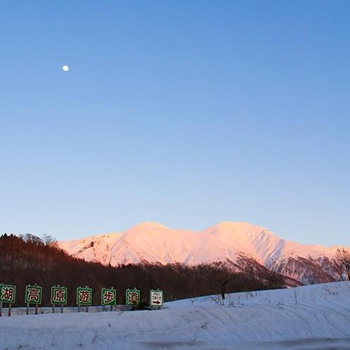 冬の秋田駒ケ岳