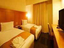 【エコノミーツイン】18.6平米 ベッド幅110センチ
