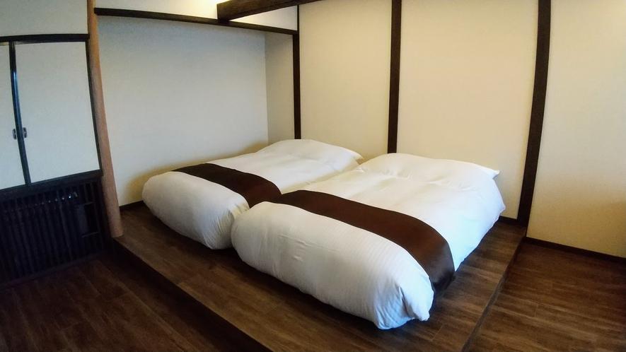 1階デザイナーズ和洋室セミダブルベッド