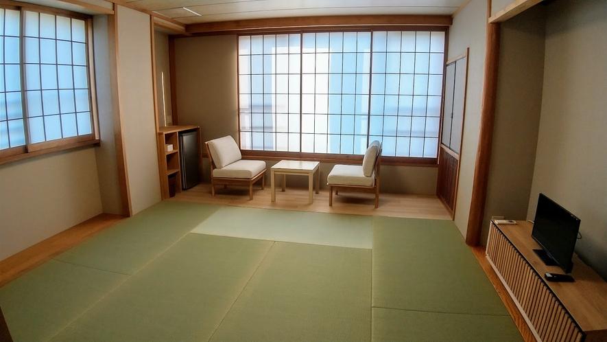 1階8畳和室角部屋