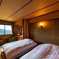 本館 和洋室「箱根」寝室