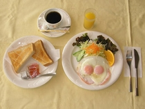 【朝食】洋食