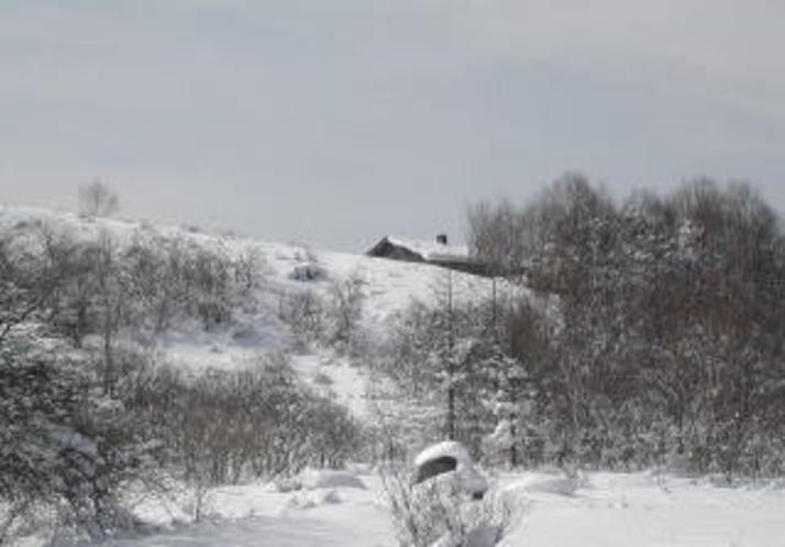 冬の鷲が峰ひゅって4