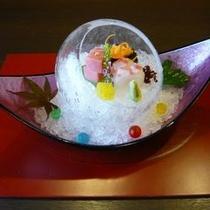 ◆お向 風船氷 三種盛り※イメージ