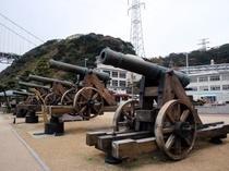 みもすそ川公園大砲