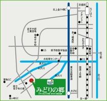 みどりの郷 地図