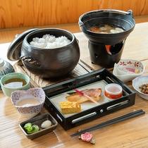 *【朝食】ご飯に合うおかずや、温かいお味噌汁など、朝に優しい朝食をご用意しております
