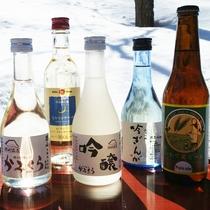 *【お飲み物】写真右の「いわて蔵ビール」は一関で生まれたビール。世界で高い評価をいただいています
