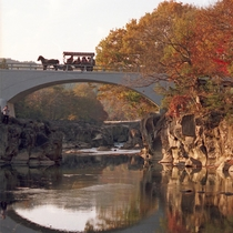 *【周辺観光:厳美渓】四季折々の美しい景色がご覧いただけます